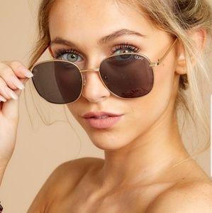 QUAY Australia Large Round Sunglasses